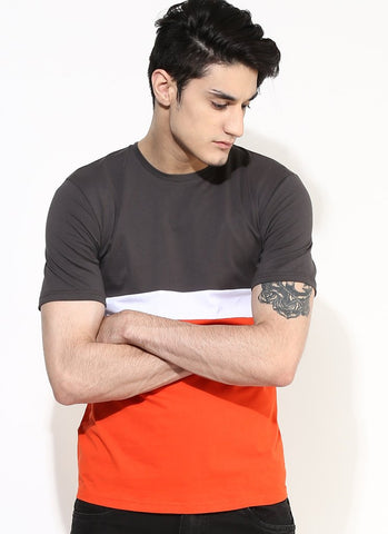 Organic Cotton Multi Color T-shirt