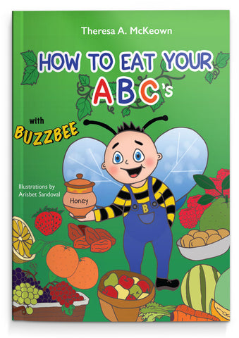 """How to Eat Your ABCs"" - Children's book"