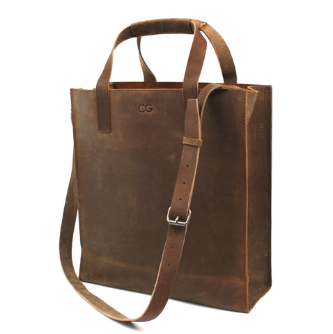 Leather Day Tote