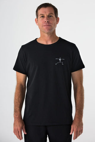 Skelly Bones Tee – Black by the Kozm
