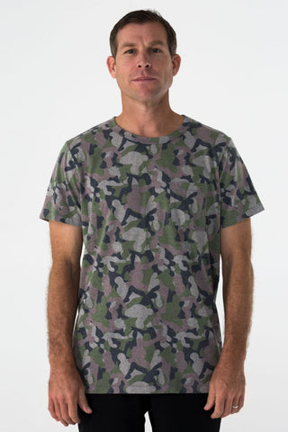 Pocket Tee Camo by the Kozm