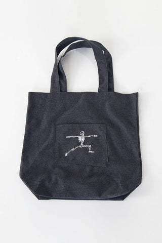 Skelly Tote Bag by the kozm