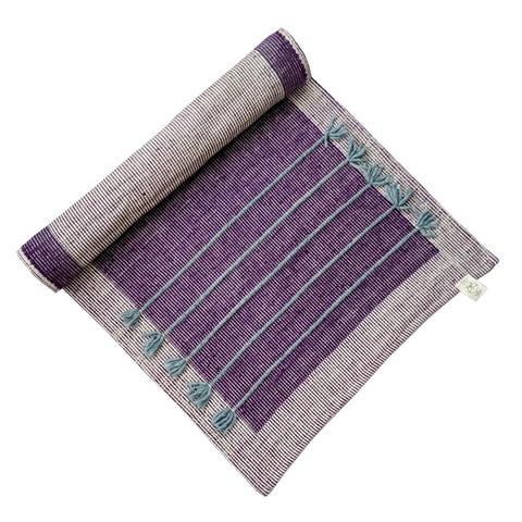 Nirvana Violet Cotton Yoga Mat