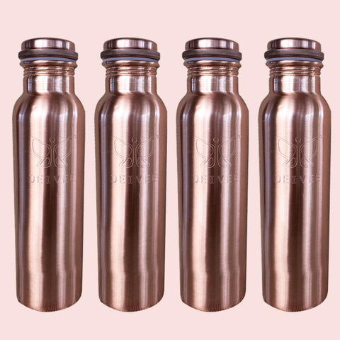 Healthy Family Combo - 900 ml Copper Water Bottle