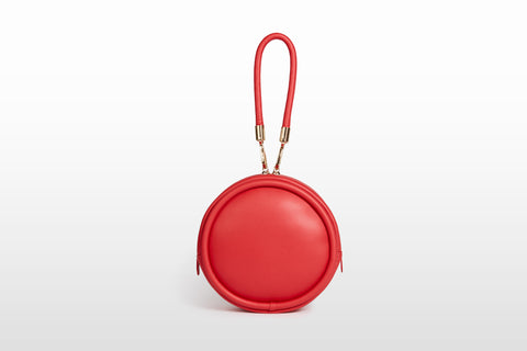 Vegan Canteen Handbag, Rouge
