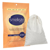 SMELLEZE Reusable Mothball Smell Removal Deodorizer Pouch: Rids Chemical Odor Without Scents in 150 Sq. Ft.