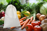 SMELLEZE Reusable Ethylene Gas Remover Pouch: Treats 150 Sq. Ft. To Keep Vegetables Fresher Longer