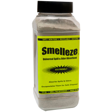 SMELLEZE Natural Universal Spill Clean Up Absorbent: 50 lb. Granules for Spill Containment