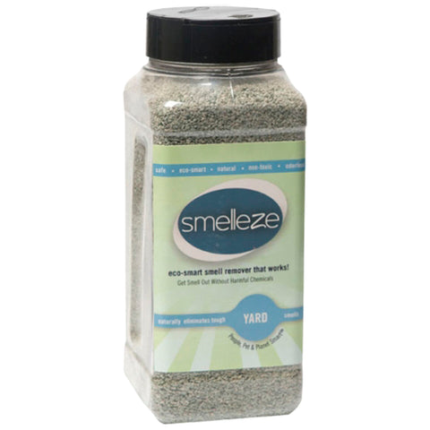 SMELLEZE Natural Yard Odor Remover Deodorizer: 2 lb. Granules Eliminates Outdoor Smell