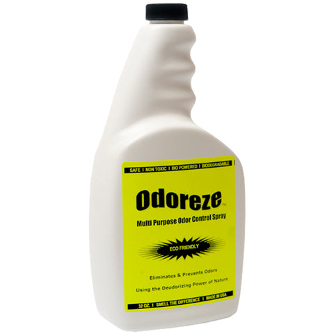 ODOREZE Natural Odor Eliminator Concentrate: Makes 64 Gallons to Fight Odor & Clean Green