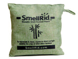 SMELLRID Reusable Bamboo Charcoal Odor Eliminator Pouch – X Large (6 x 6 inches): Treats Up to 150 sq. ft. to Rid Tough Smells & Pollutants