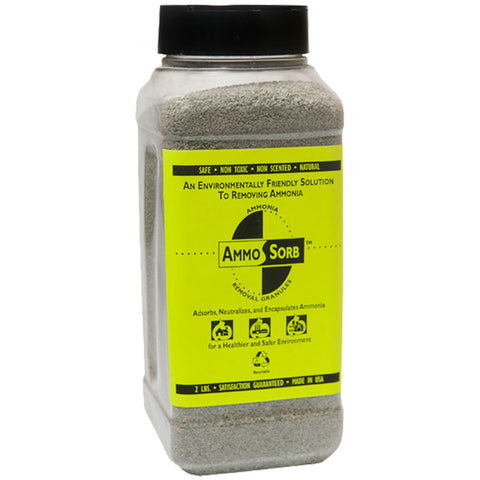 AMMOSORB Natural Aquarium Ammonia Remover Granules: 2 lb. Use in Tank or Filter