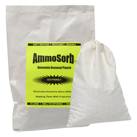 AMMOSORB Reusable Ammonia Smell Removal Deodorizer Pouch: Treats 300 Sq. Ft.