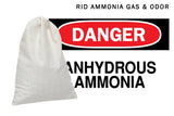 AMMOSORB Reusable Ammonia Odor Eliminator Deodorizer Pouch: Treats 150 Sq. Ft.