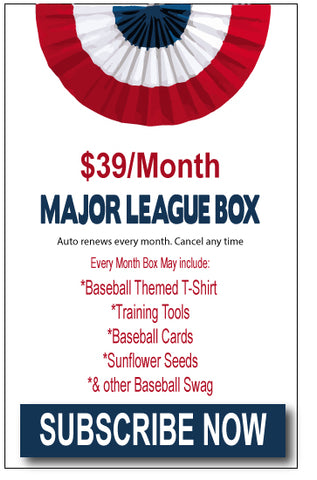MAJOR LEAGUE MONTHLY SUBSCRIPTION BOX