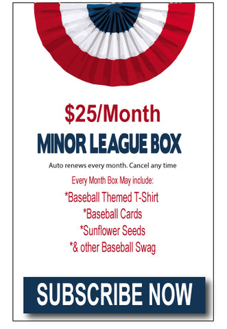 MINOR LEAGUE MONTHLY SUBSCRIPTION BOX
