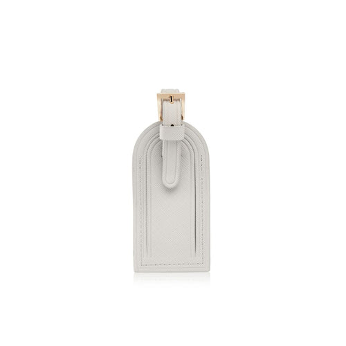 Grey Luggage Tag