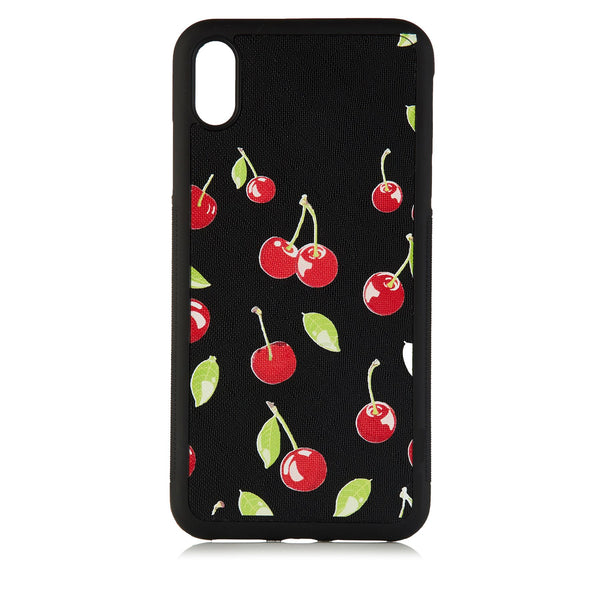 Cherry Bliss Black phone Covers