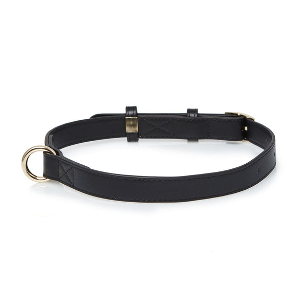 Black Medium Dog Collar