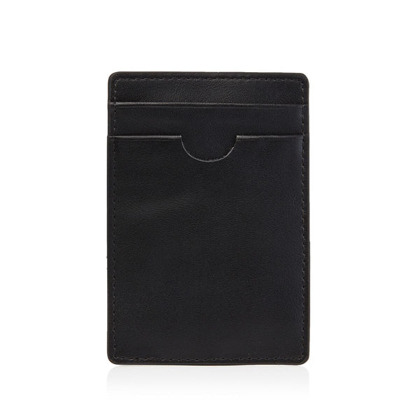 Black Money Clip Wallet