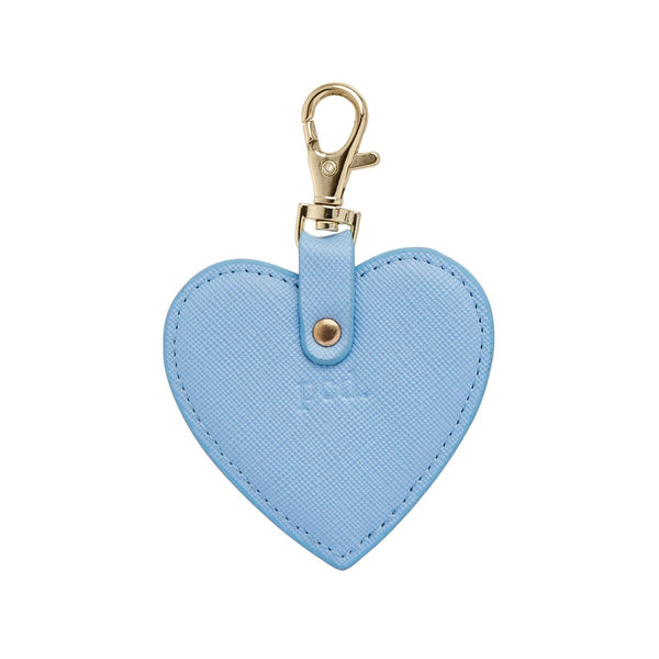 Blue Heart Keychain