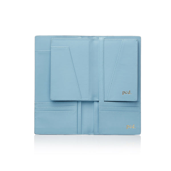Blue Travel Folder
