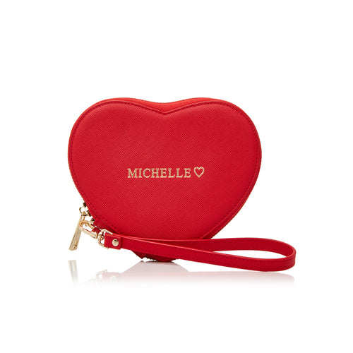Large Heart Shaped Purse