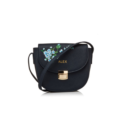 Navy Alex Crossbody Bag