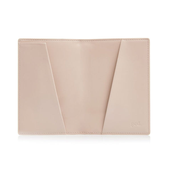 Beige Passport  Holder