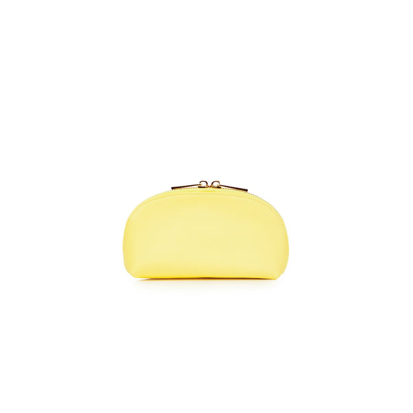 Small Yellow makeup bag