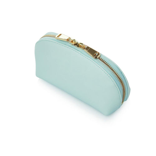 Large Mint Green Makeup Bag