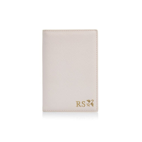 Cream Passport  Holder