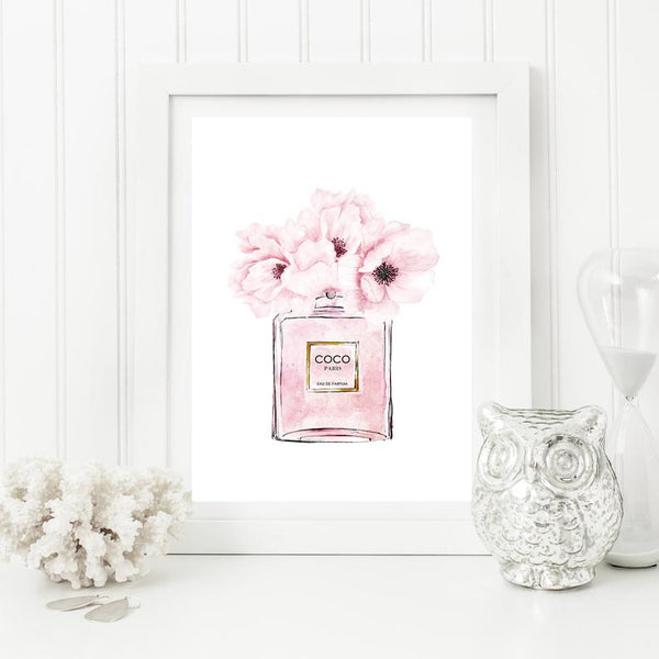 Peonies  - Wall Art Poster A3