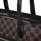 Large Black St Anne Tote