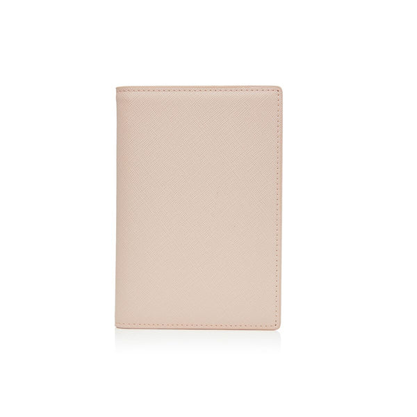 Nude Passport Holder and Luggage Tag Set