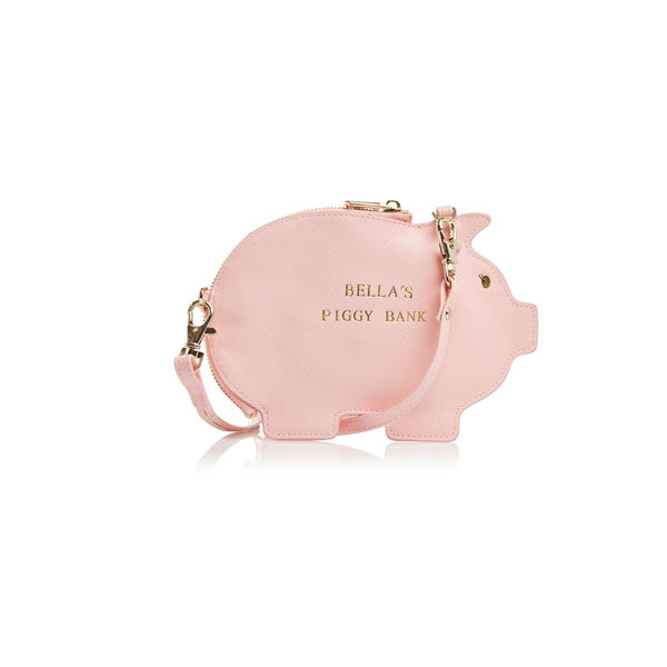 Mini Crossbody Piggy Bank