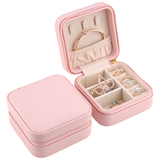 Pink Square Jewelry Box