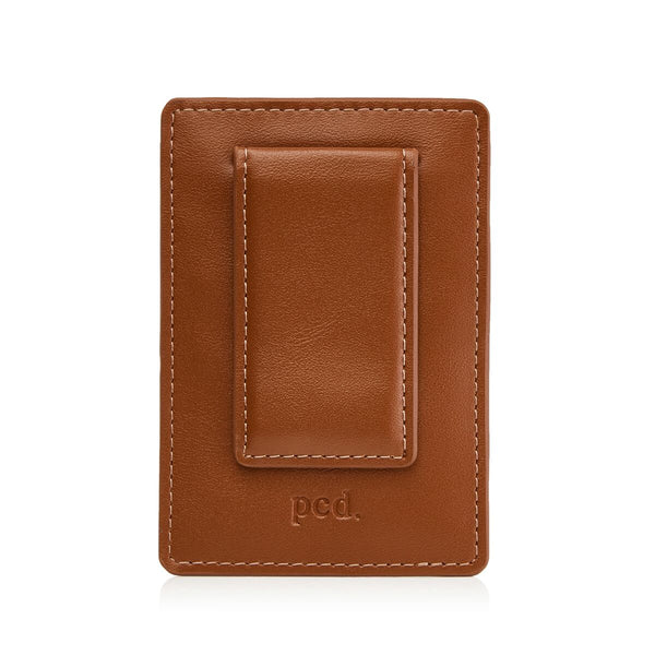 Tan Money Clip Wallet