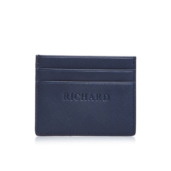 Navy Double Card Holders