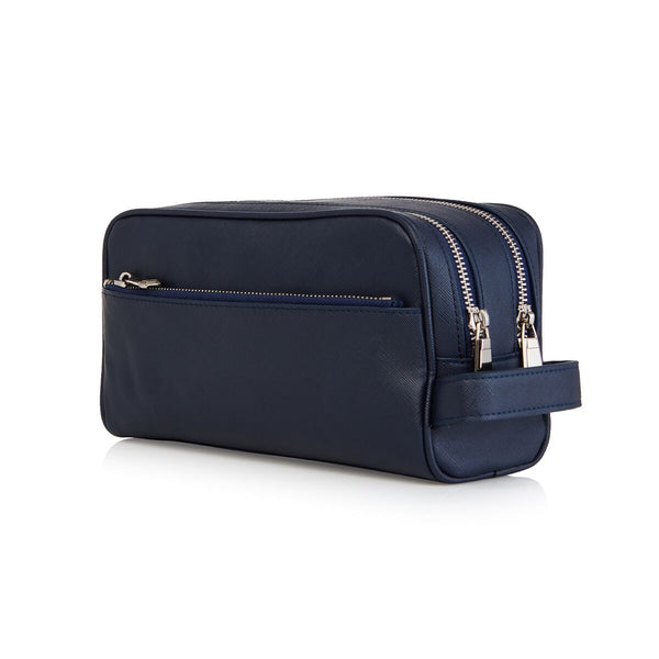 Navy Mens Wash Bag