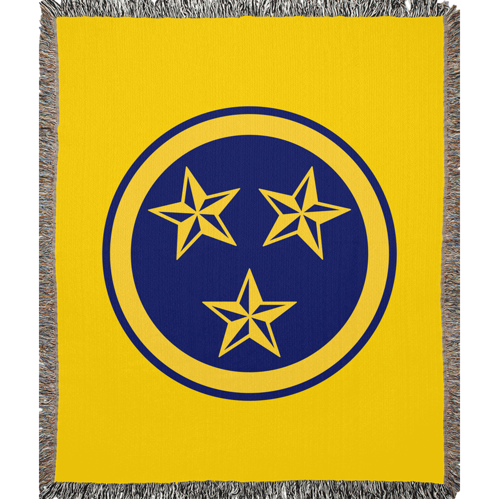 Tristar Gold Woven Blanket