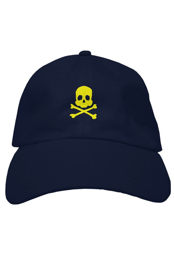 Skull and Xbones premium dad hat