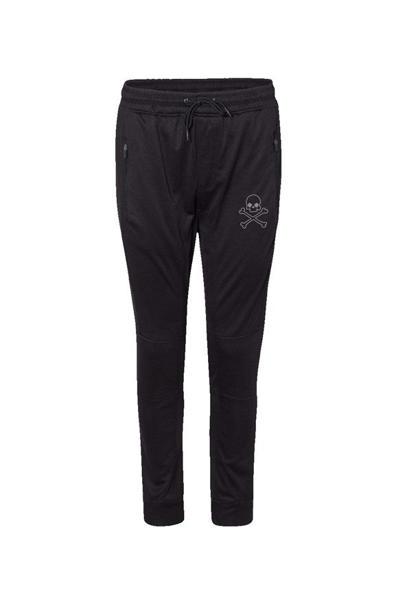 Skull X Bones Performance Joggers - Black