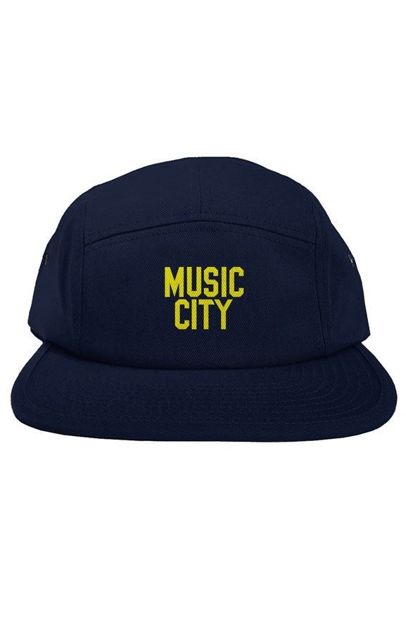 Music City Basic Modern Gold Text 5 panel