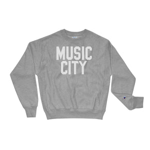 Music City Basic Text Champion Sweatshirt