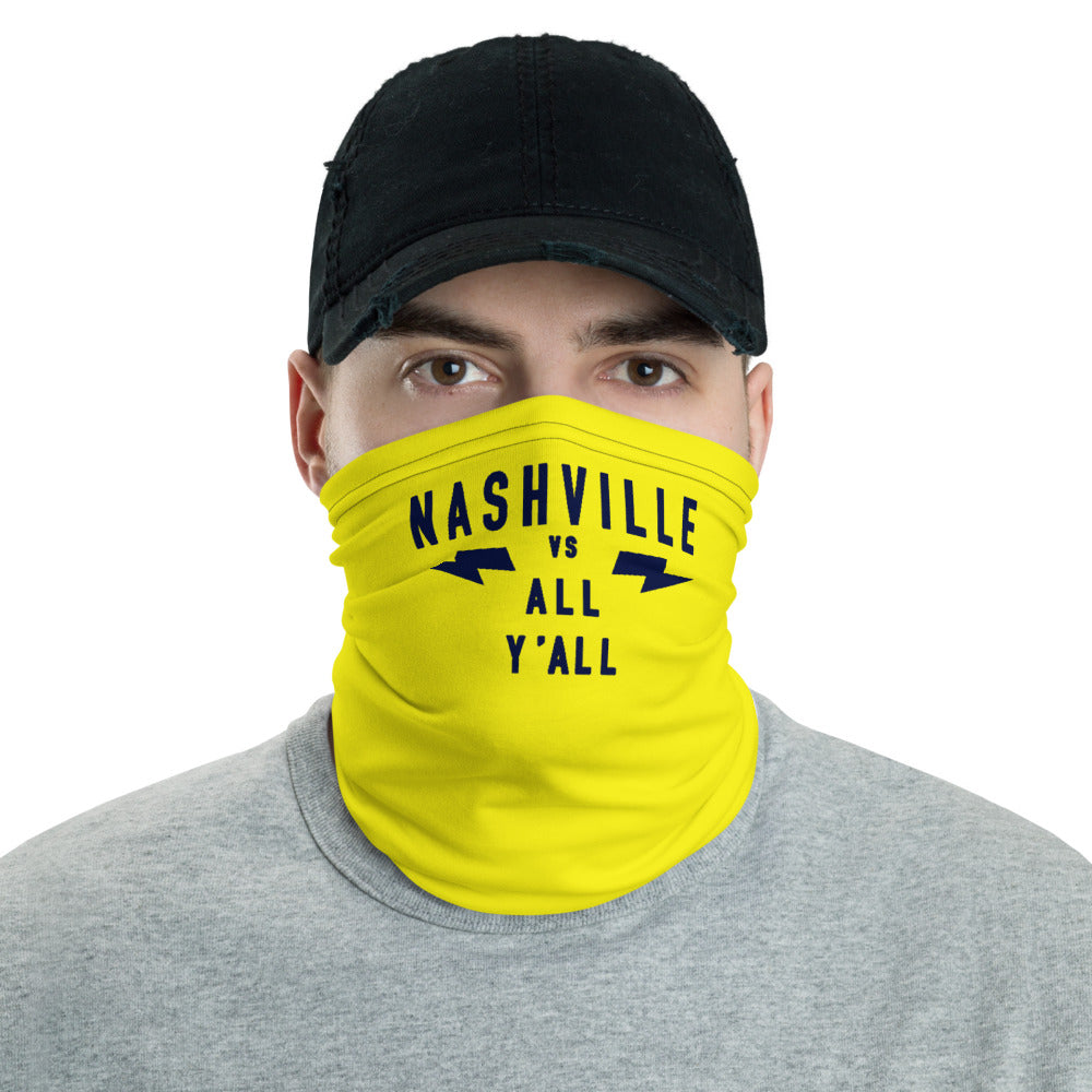 Nashville Vs All Y'all Neck Gaiter