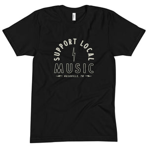 Support Local Music Unisex Premium Tshirt