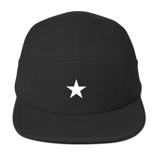 Simple Star Five Panel Cap