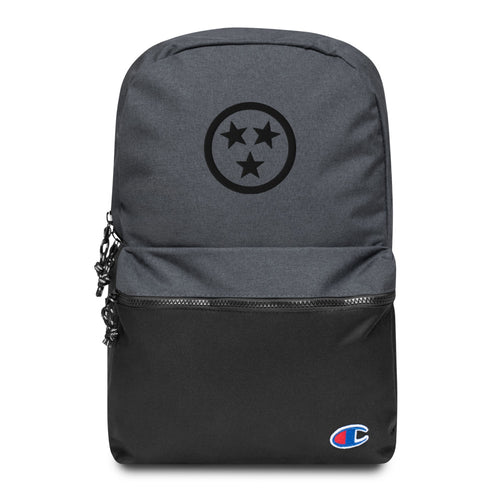 Tristar Embroidered Champion Backpack