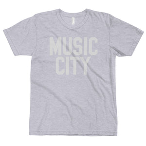 Music City Basic Text Premium T-Shirt